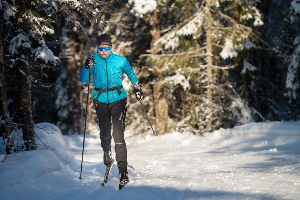 Ski i Kjekstadmarka