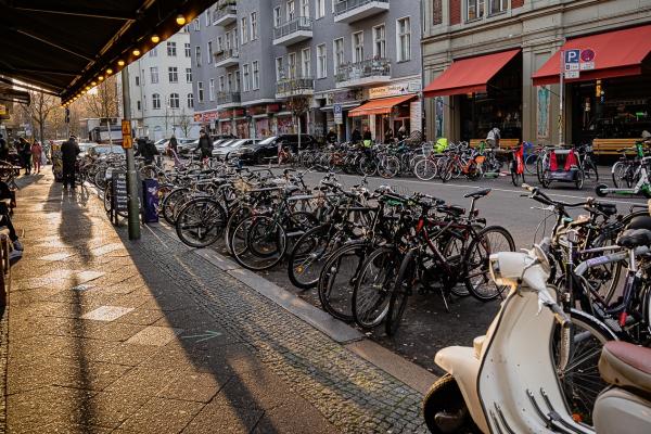 Sykler i Berlin