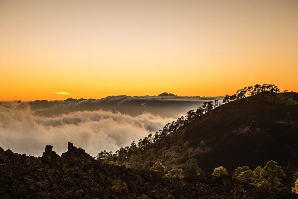Over skydekket på Tenerife