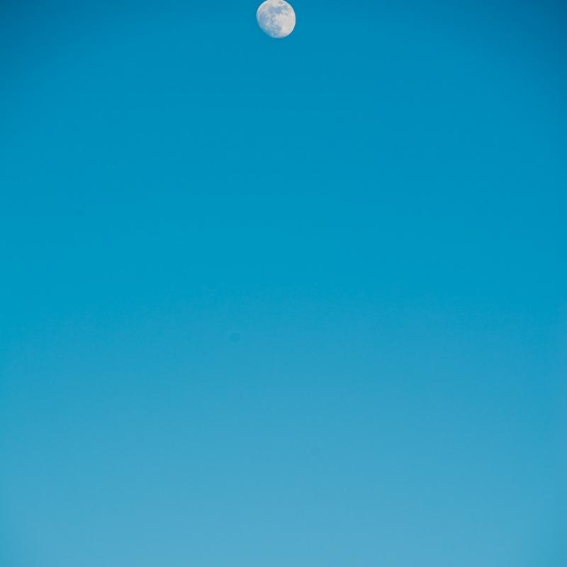 Måne og jord