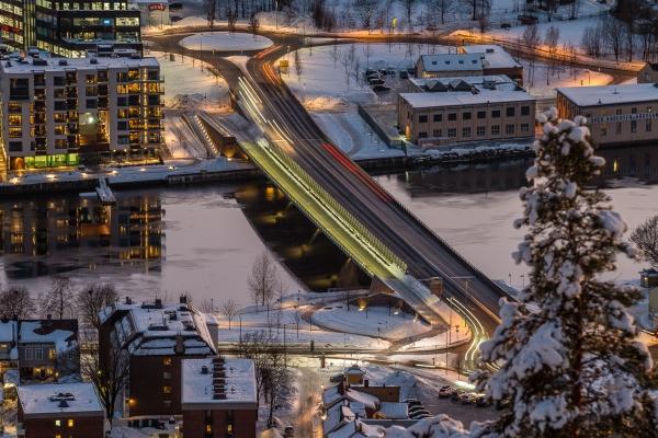 Øvre sund bro